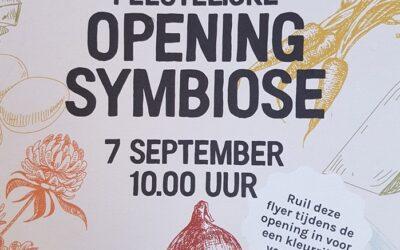 Welkom! 7 september opening Symbiose winkel!